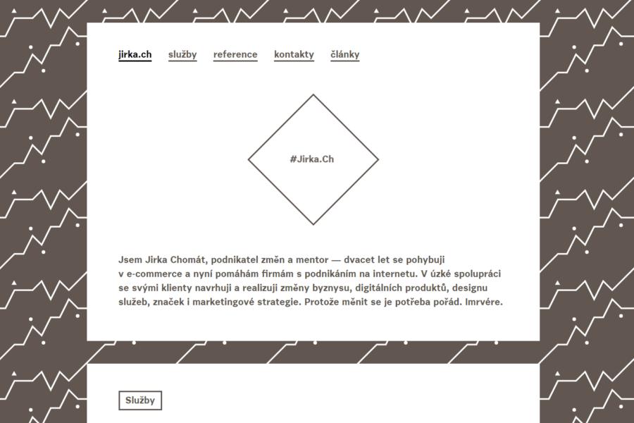 Web jirka.ch