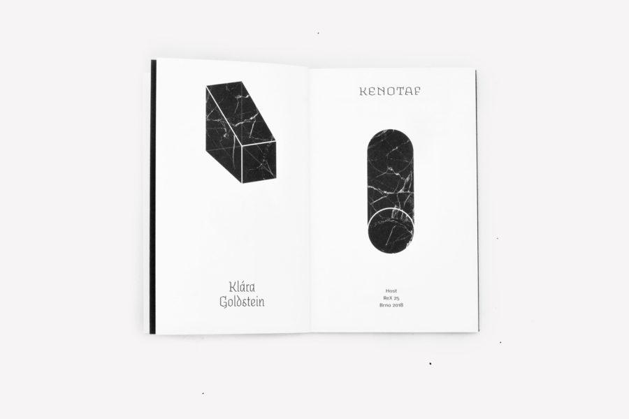 Klára Goldstein: Kenotaf