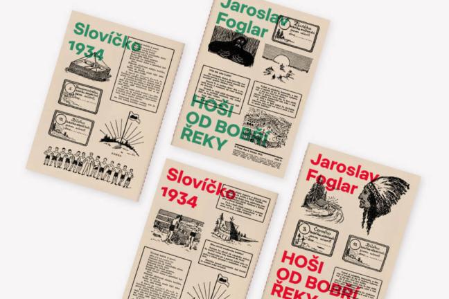 Jaroslav Foglar: Hoši od Bobří řeky (Slovíčko)