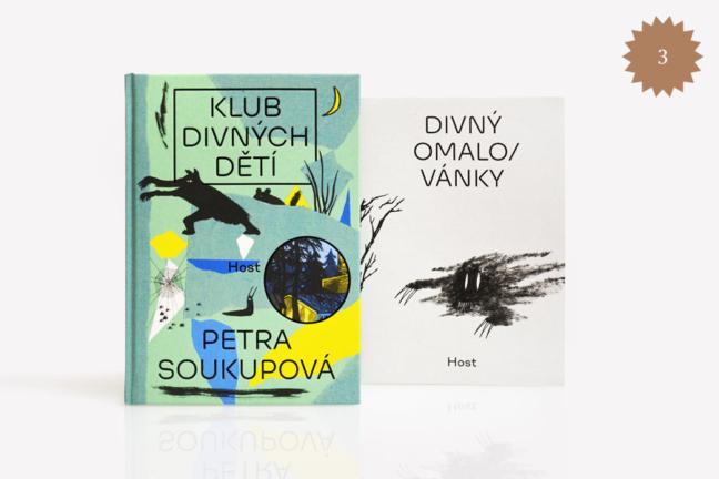 Petra Soukupová: Klub divných dětí (plus omalovánky)