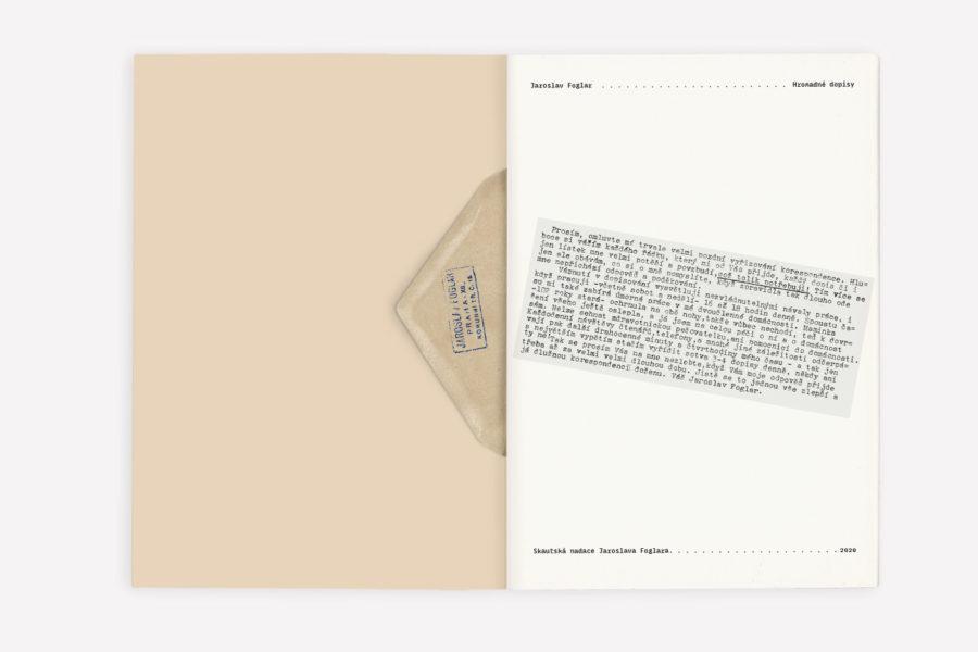 Jaroslav Foglar: Hromadné dopisy